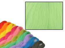 CYBERLOXSHOP PHANTASIA KANEKALON JUMBO BRAID PISTACHIO GREEN HAIR DREADS