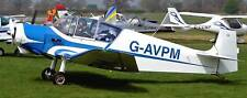 Jodel D-117 Private Airplane Wood Model Free Ship New