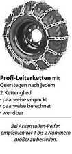 Schneeketten für Rasentraktor Aufsitzmäher 18x6.50-8