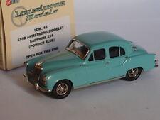 1958 ARMSTRONG SIDDELEY SAPPHIRE 234 POWDER BLUE LANSDOWNE MODELS LDM 38X 1/43