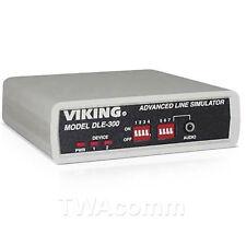 Viking Electronics Dle-300 Advanced Line Simulator + Free Shipping!