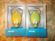 Green Fm Desktop Radio Computer Mouse Radio (Computer Mouse Shaped Photo holder