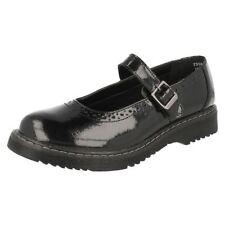 Chaussures moyens avec boucle en cuir pour fille de 2 à 16 ans