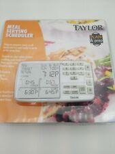 Taylor 750 Digital Meal Scheduler/ Plan And Prep