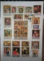 Religion Navidad Pascua  Lot Briefmarken Sellos Stamps Timbres