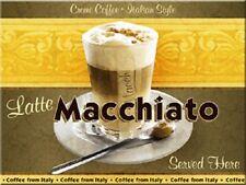 Latte Macchiato Kühlschrankmagnet Fridge Refrigerator Magnet 6 x 8 cm