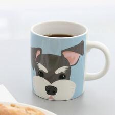 Puppy Mug_Schnauzer coffee mug cute mug modern mug unique dessert mug tea cup