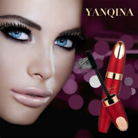 Waterproof Black 4D Fiber Long Curling Eyelash Mascara Extension Makeup Cosmetic