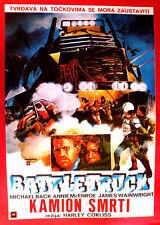 BATTLETRUCK 1982 HARLEY COKLISS MICHAEL BECK ANNIE McENROE EXYU MOVIE POSTER #2