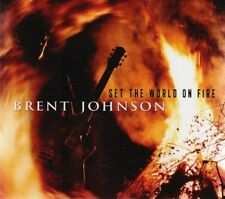 Set the World on Fire [Slipcase] by Brent Johnson (CD, Apr-2014, Justin Time)