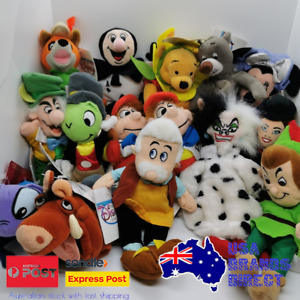 Disney Store Bean Bag Plush Toys - Lots to choose from! Vintage Collectables