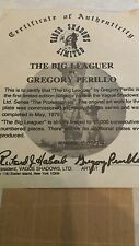 """""""THE BIG LEAGUER"""" LIMITED EDITION PLATE BY GREGORY PERILLO & VAGUE SHADOWS LTD."""