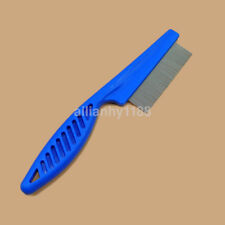Hot Fine Toothed Flea Flee Metal Nit Head Hair Lice Comb with Handle for Pet US