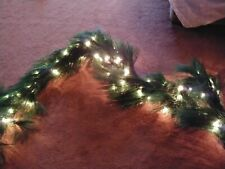 2 /9 ft Scotch Pine Garlands With Bethlehem lights heavy weight