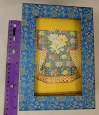 Punch Studio Stationary Box Set w/ Cards, Notepad, Envelopes, Silk Kimono Design