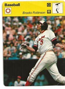Brooks Robinson- 1977 Sportscaster- # 03-005-16-07 / Baltimore Orioles