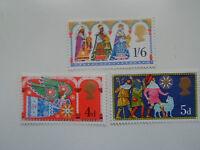 GB 1969 Christmas set of 3