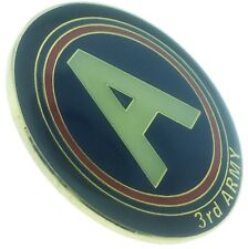 3rd Army 1 inch Lapel Pin