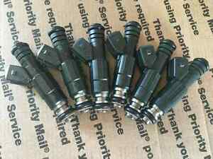 UPGRADE!! 87-97 JEEP 4.0L BOSCH FUEL INJECTORS SET 6 23LB EV1