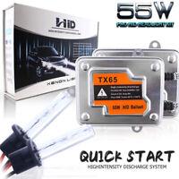 55W QUICK START Slim HID Headlight Conversion Kit All Bulb Sizes 3K 5K 6K 8K 10K