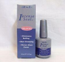 IBD Gel,Acrylic,Wraps UV Nail Sealer INTENSE SEAL .5oz/15ml