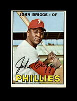1967 Topps Baseball #268 John Briggs (Phillies) NM