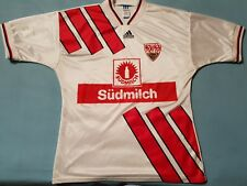 9.5/10 VFB Stuttgart 1993 1995 L ADIDAS Trikot Shirt Jersey Germany Bundesliga