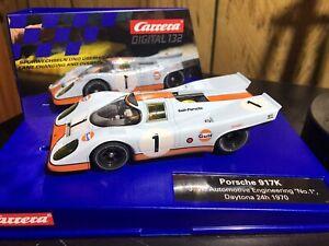Carrera 30749 1/32 Digital Slot car Gulf no. 1 w/ Upgrades