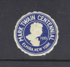 Mark Twain Centennial, Elmira, New York, 1935