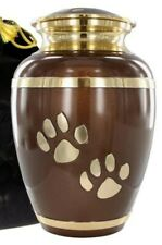 "Always Faithful Brown Pet Urn For Dogs And Cats Small/6"" Perfect Warm And Loving"
