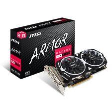 Grafikkarte PCI-Express MSI AMD Radeon RX570 Armor 8GB, HDMI, DVI, DP Mining