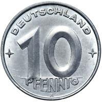 DDR - Münze - 10 Pfennig 1952 A - Münzstätte Berlin