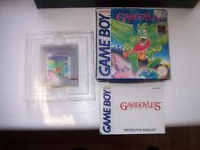 Authenthic gárgolas Quest-Game Boy, Caja, Manual