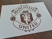 Manchester Football Club FC Logo Stencil Airbrush Paint Reusable Template A4 DIY