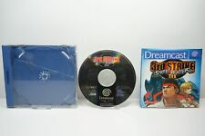 Street Fighter III: 3rd Strike No Back Cover - Sega Dreamcast - DC