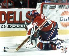 Canadiens Jose Theodore Authentic Signed 8X10 Photo Autographed BAS #C57648