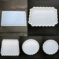 Coaster Jewellery Storage Tray Silicone Resin Mold Mould DIY Making Tool Crafts