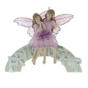 Fairy Wishes By Juliana Friendship Bridge Figurine / Ornament.New.58226