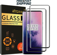 OnePlus 7 Pro Screen Protector Tempered Glass 9H Hardness Case Friendly