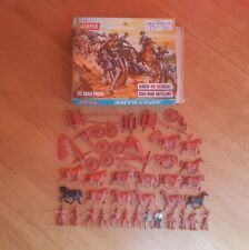 Airfix 1/72 ACW Civil War Artillery x49 Plastic Figures Boxed