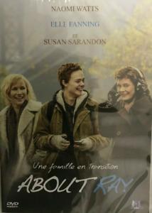 DVD - ABOUT RAY / NAOMI WATTS, ELLE FANNING, SUSAN SARANDON, M6 VIDEO, NEUF