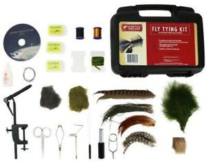 Scientific Anglers Deluxe Fly Tying Kit w/ DVD Fly Fishing Lure Making Set-