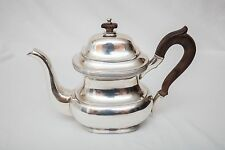 BUCCELLATI STERLING SILVER COFFEE POT MADE IN ITALY HAND MADE AND HAMMERED