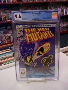 NEW MUTANTS #1 (Marvel Comics, 1983) CGC Graded 9.6 ~ WHITE Pages
