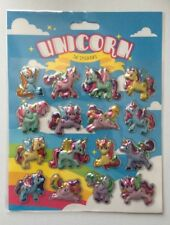 Unicorn 3D Stickers Craft Scrapbooking