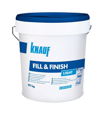 KNAUF Fill&Finish Light 10/15/20 x 20kg Sheetrock Füll-Feinspachtelmasse Leicht