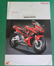 HONDA MOTO CB1300 POSTER CBR 900 VTR HORNET ADVERTISING PUBBLICITA DEPLIANT