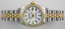 Rolex Datejust Stainless Steel Case Adult Wristwatches
