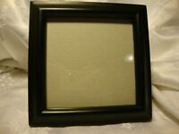 """Black Resin Square Photo Frame 5""""x 5"""" Picture Wall Hanging or Freestanding     4"""