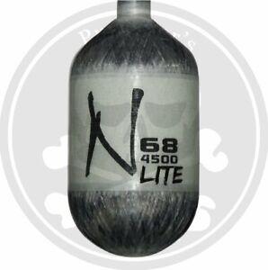 Ninja Carbon Fiber Lite 68/4500 Paintball Tank - Grey Ghost - BOTTLE ONLY
